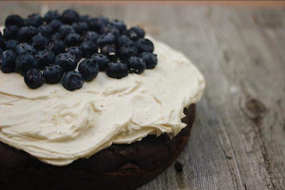 Gâteau au chocolat et au beurre d'amande