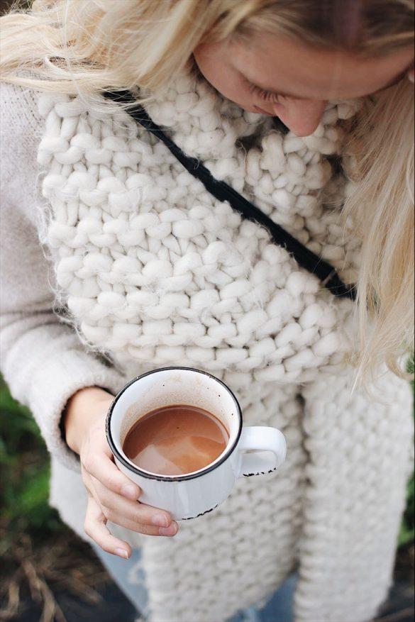 Chocolat chaud à la fleur de sel