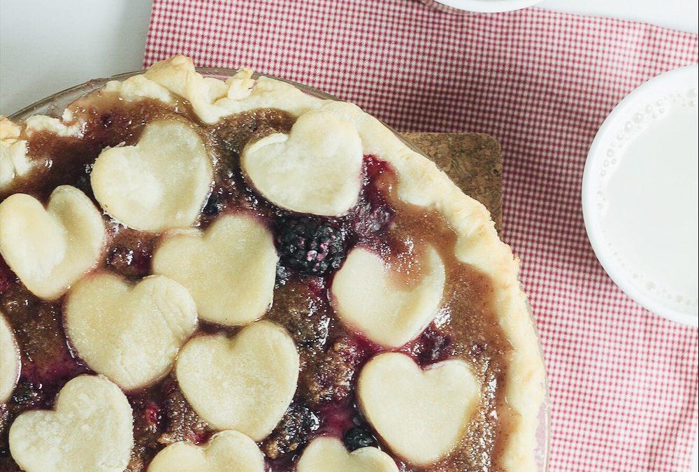 Tarte aux petits fruits et au caramel d'amande